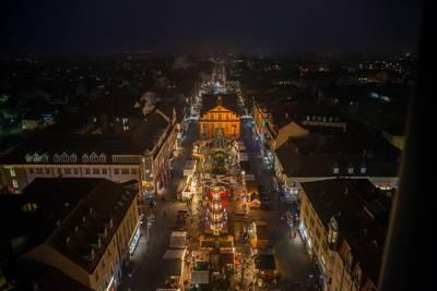 Weihnachtsmarkt Rastatt vom 25.11.-23.12.2019 Schlossweihnacht im Ehrenhof des Residenzschlosses vom 05.-15.12.2019