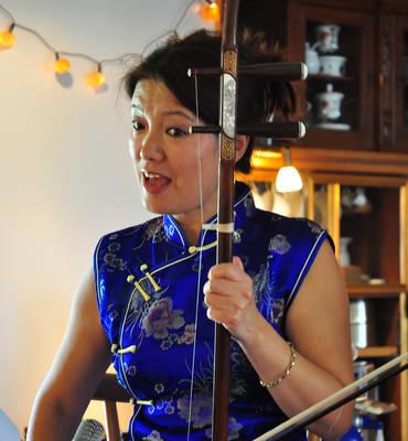Jedes Wort lebt Lesung mit Gabriele Friederichs und Musik von Ying Schütze-Huang
