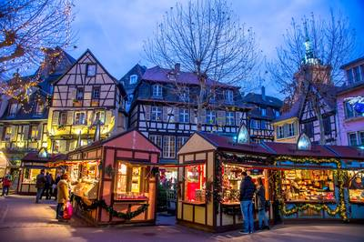 Fahrt zum Weihnachtsmarkt nach Colmar