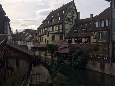 Fahrt zum Weihnachtsmarkt nach Colmar. (© Dr. Jochen Schwendemann)