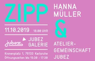 Interner Link zur Veranstaltung: ZIPP Ausstellungsreihe in der Jubez Galerie