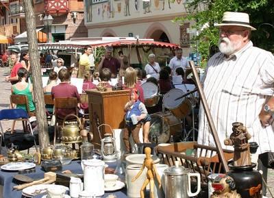 Flohmarkt in Haslach. (© Kultur und Marketing Stadt Haslach)