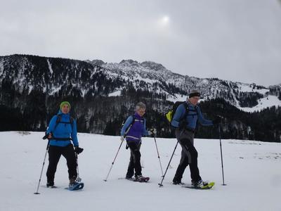 Schneeschuhwanderung - Erlbergkopf