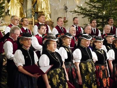 Dorfweihnacht Adventskonzert. (© Waltraud Saier)