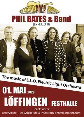 Werbeplakat ELO. (© Phil Bates)