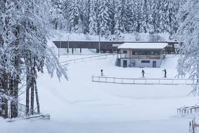 Winterwanderung mit Biathlon-Feeling