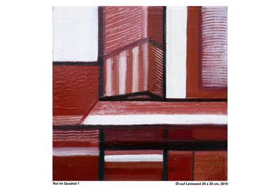 Ausstellung: kleinFormat - Sechsundzwanzig IBC-Mitglieder mit Malerei, Grafik, Textil, Fotografie, Skulpturen im kleinen Format.. (© Bild Wolfgang Schmidberger)