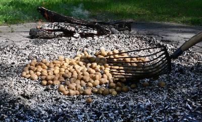 Kartoffelbraten in Endorf