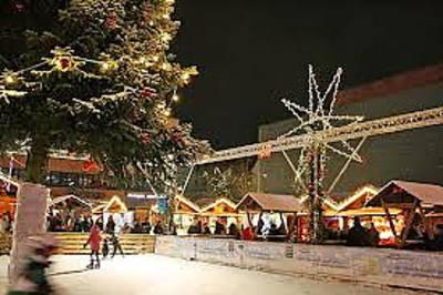 Homburger Weihnachtsdorf