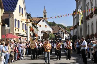 Traditionelles Markgräfler Winzerfest
