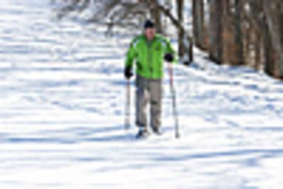 Schneeschuhwanderung rund um die Harthauser Heide