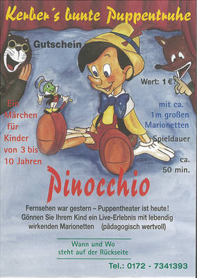 Kerbers bunte Puppentruhe Pinocchio