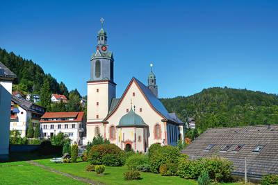 Kirchenführung katholische Wallfahrtskirche & Pfarrhaus