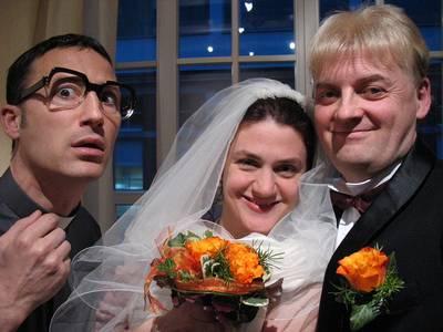 Mord am Hochzeitsabend. (© Schauspielgruppe Freistil)