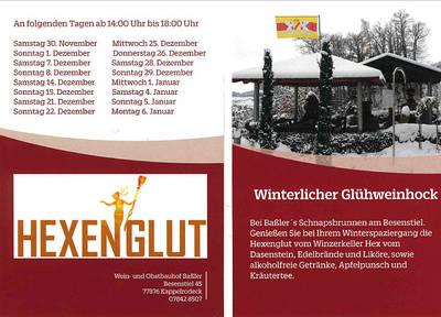 Hexenglut - Winterlicher Glhweinhock