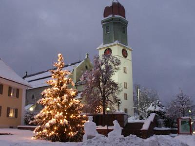 Weihnachtsbaum-Verkauf der Bergwacht Höchenschwand