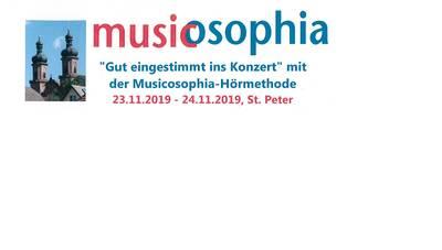 Gut eingestimmt ins Konzert. (© musicosophia St. Peter)