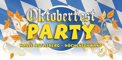 Abgesagt: Oktoberfest-Party in der Festhalle Attlisberg
