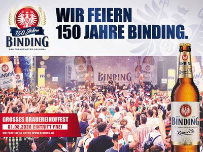 150th anniversary Binding Brewery