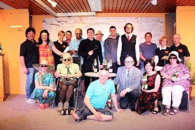 Theatergruppe Göschweiler. (© Petra Schonhardt)