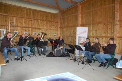 Sonntagskonzert mit der Blechkapelle JuraBläch, Schweiz