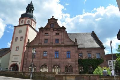 Die historische Altstadt Ettlingen. (© Museum Ettlingen)