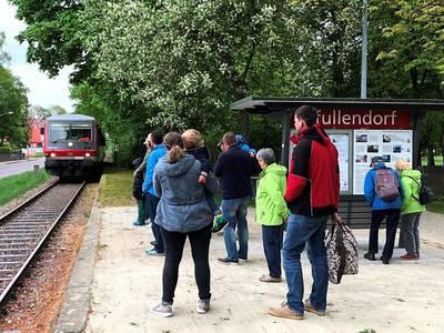 Bahnsteig Pfullendorf. (© Ferienregion Nördlicher Bodensee)
