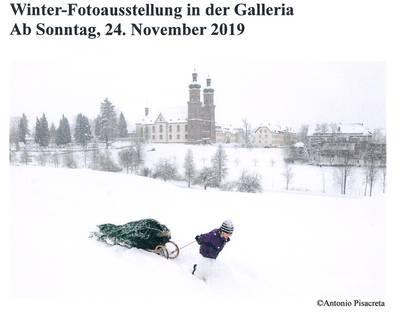 Winter-Fotoausstellung in der Galleria. (© Antonio Pisacreta)