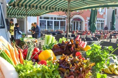 Viktualienmarkt in Kelheim