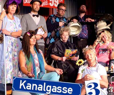 Theater-Ensemble Alte Fabrik. (© Alte Fabrik Mühlhofen)