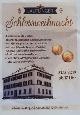Lautlinger Schlossweihnacht