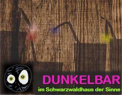 ABGESAGT: Testen Sie Ihren Geschmackssinn in unserer Dunkelbar!. (© Schwarzwaldhaus der Sinne)