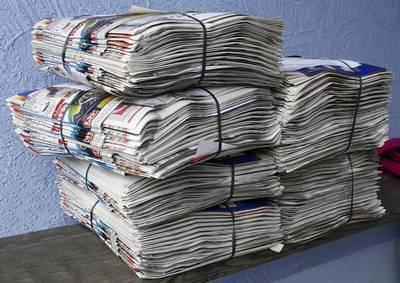 Papiersammlung in Amecke