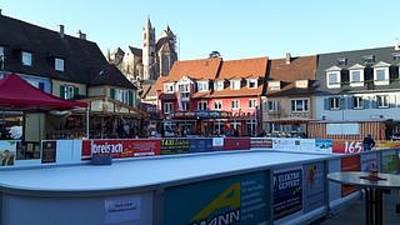 Eisbahn Breisach am Rhein - Marktplatz -