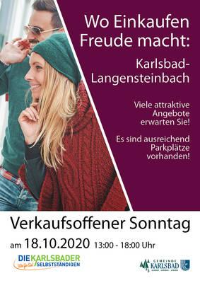 Verkaufsoffener Sonntag Langensteinbach