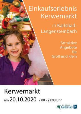 Kerwemarkt Langensteinbach