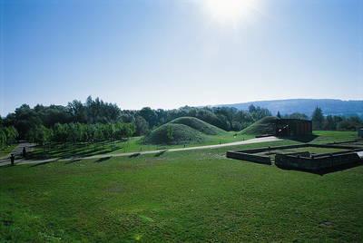 Grabhügel im Europäischen Kulturpark Bliesbruck-Reinheim. © Saarpfalz-Touristik, Wolfgang Henn