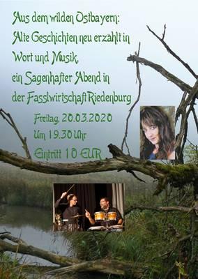 Aus dem wilden Ostbayern, alte Geschichten neu erzählt in Wort und Musik