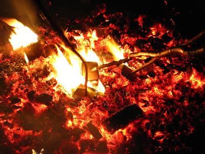 Fasnet verbrennen. (© Gemeinde Grafenhausen)