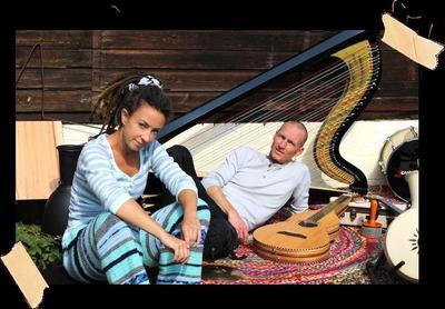 Musiksalon präsentiert: Jeanine Vahldiek Band - Die Band mit der Harfe