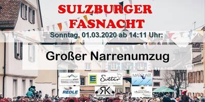 Großer Sulzbachtalnarrenumzug