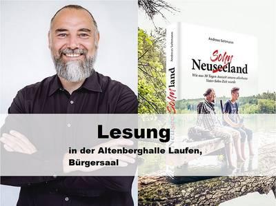Lesung: Andreas Seltmann NeuseeSohnland