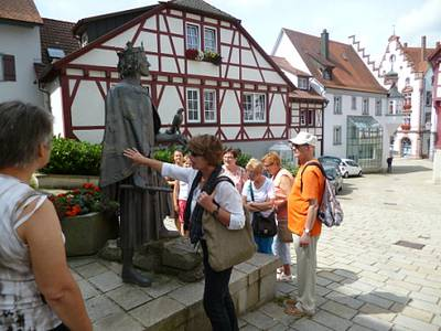 Kostenlose Stadtführung durch die Pfullendorfer Altstadt  Pfullendorfer Stadtgeschichte wieder erlebbar - Saisonstart der Stadtführungen im Juli
