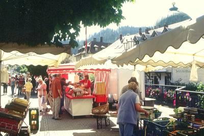 Wochenmarkt St. Blasien