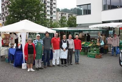 Wochenmarkt St. Blasien. (© Stadt St. Blasien)