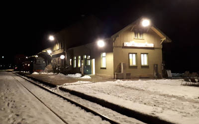 Nikolausfahrten bei der Sauschwänzlebahn