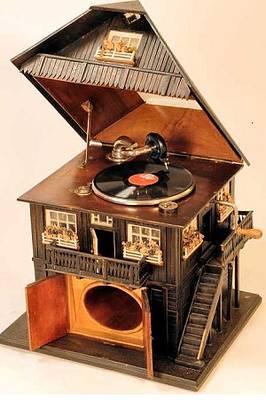 Führung durch die Grammophon  Sammlung und Musik aus dieser Zeit mit einem 3 Gänge  Menü nach Rezepten aus gutbürgerlichen Haushalten