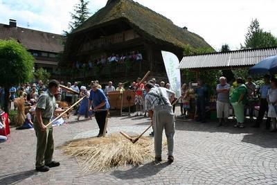 Naturpark-Markt in Oberharmersbach. (© Tourist-Information Oberharmersbach)