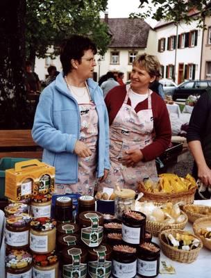 Bauernmarkt St. Peter. (© Tourist-Information St. Peter)