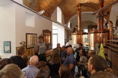 Bierseminar in der Brauerei Griesbräu